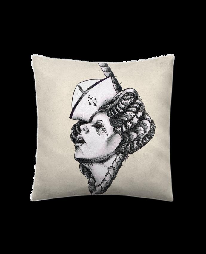Cojín Piel de Melocotón 45 x 45 cm Femme capitaine por david
