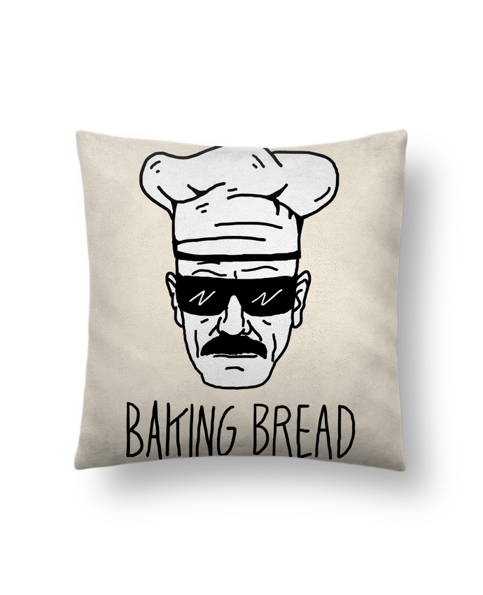 Cojín Piel de Melocotón 45 x 45 cm Baking bread por Nick cocozza