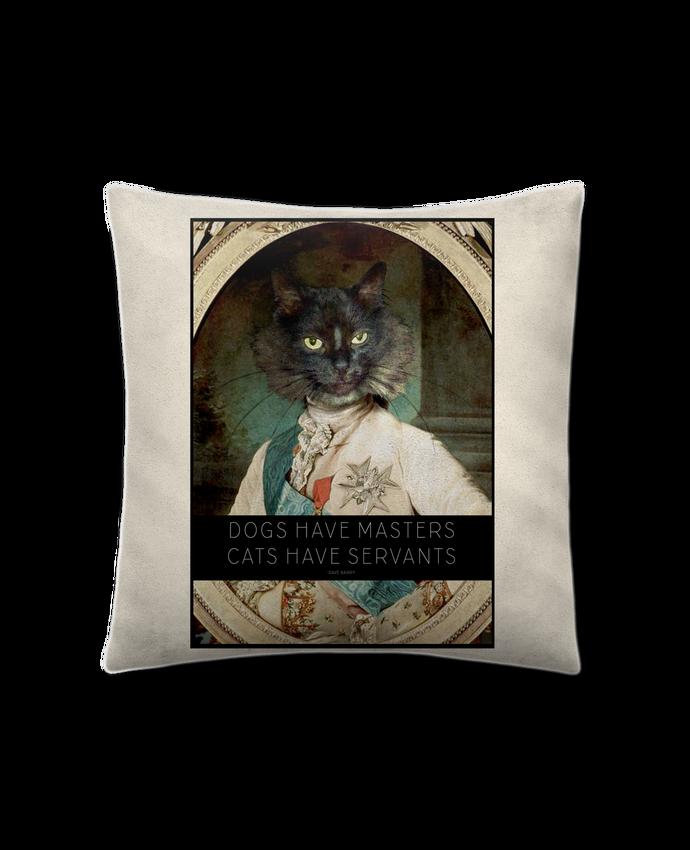 Cojín Piel de Melocotón 45 x 45 cm King Cat por Tchernobayle