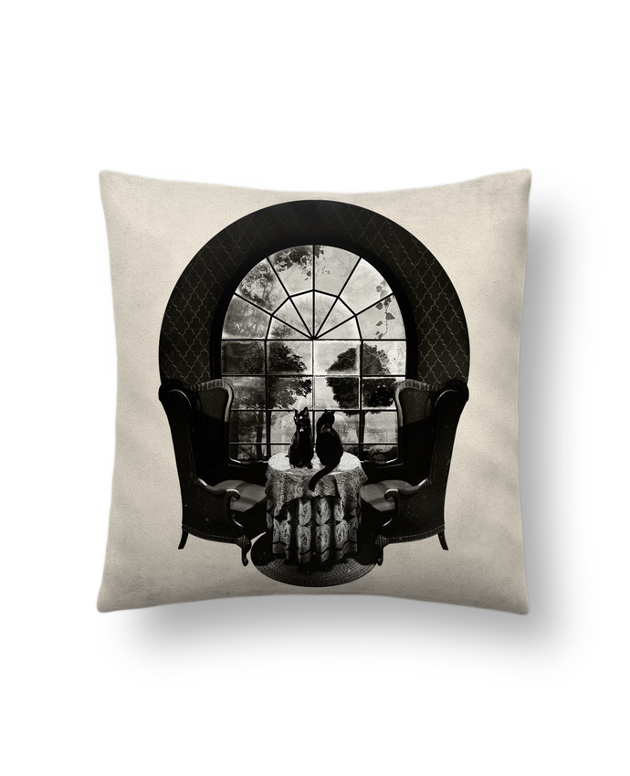 Cojín Piel de Melocotón 45 x 45 cm Room skull por ali_gulec