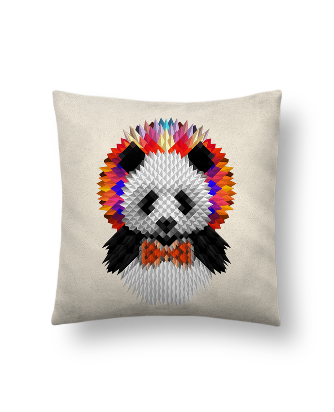 Cojín Piel de Melocotón 45 x 45 cm Panda por ali_gulec