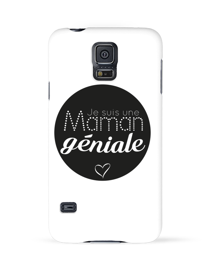 Carcasa Samsung Galaxy S5 Maman géniale por IDÉ'IN