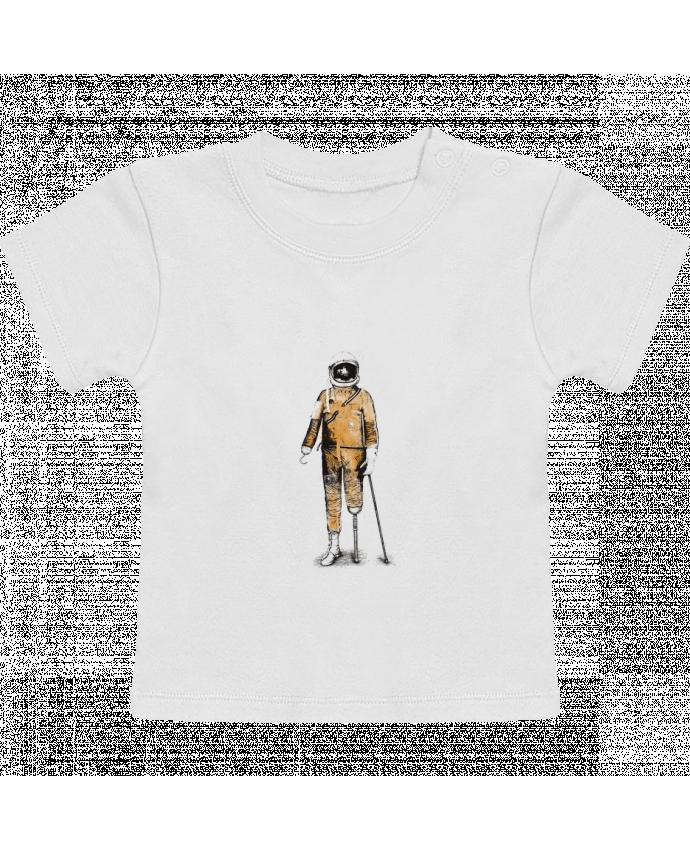 Camiseta Bebé Manga Corta Astropirate manches courtes du designer Florent Bodart