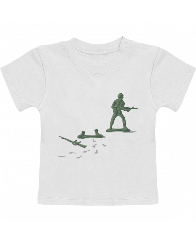Camiseta Bebé Manga Corta Deserter manches courtes du designer flyingmouse365