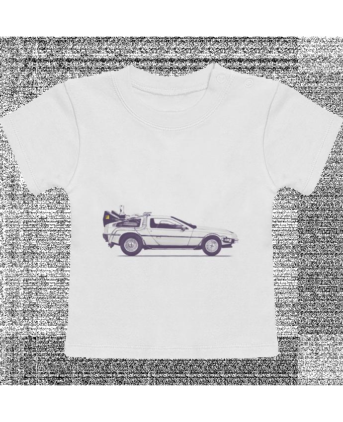 Camiseta Bebé Manga Corta Dolorean manches courtes du designer Florent Bodart