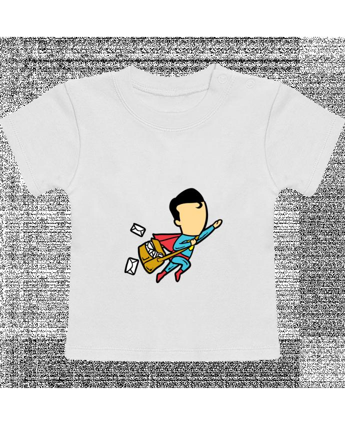 Camiseta Bebé Manga Corta Post manches courtes du designer flyingmouse365