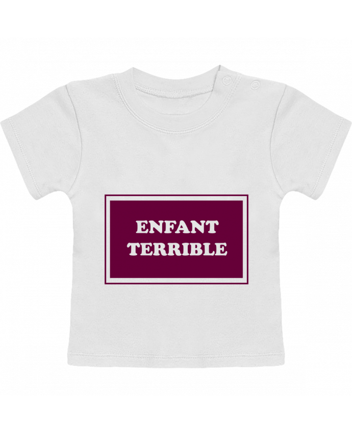 Camiseta Bebé Manga Corta Enfant terrible manches courtes du designer tunetoo