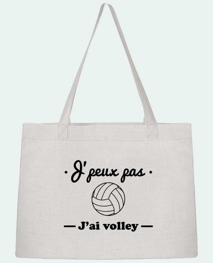 Bolsa de Tela Stanley Stella J'peux pas j'ai volley , volleyball, volley-ball por Benichan