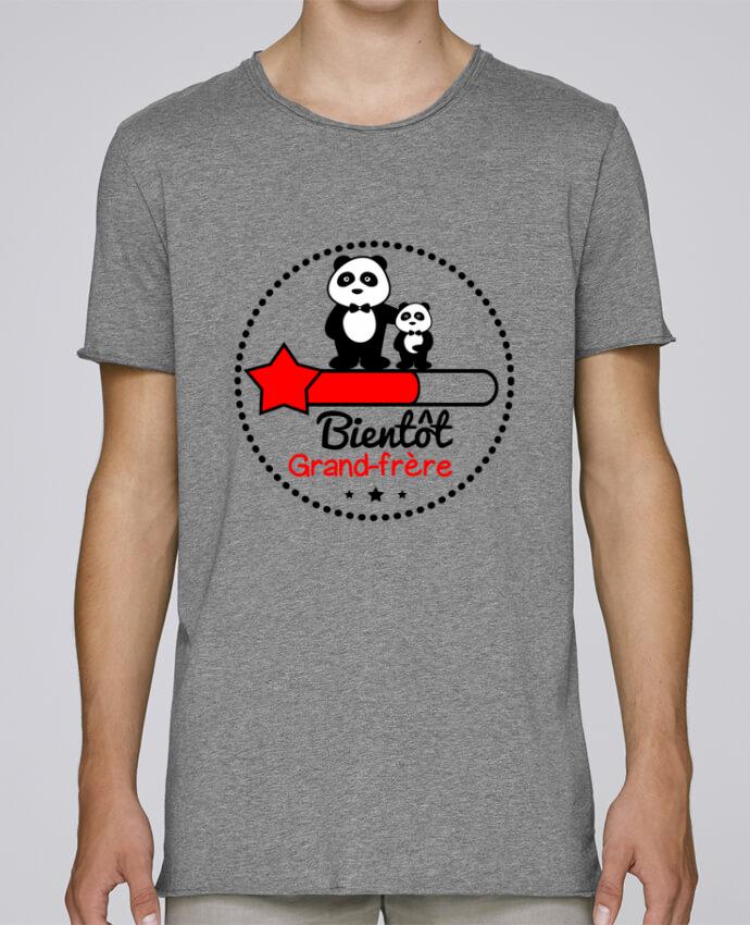 Camiseta Hombre Tallas Grandes Stanly Skates Bientôt grand-frère , futur grand frère por Benichan