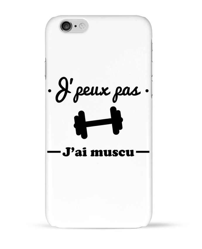 Carcasa  Iphone 6 J'peux pas j'ai muscu, musculation por Benichan