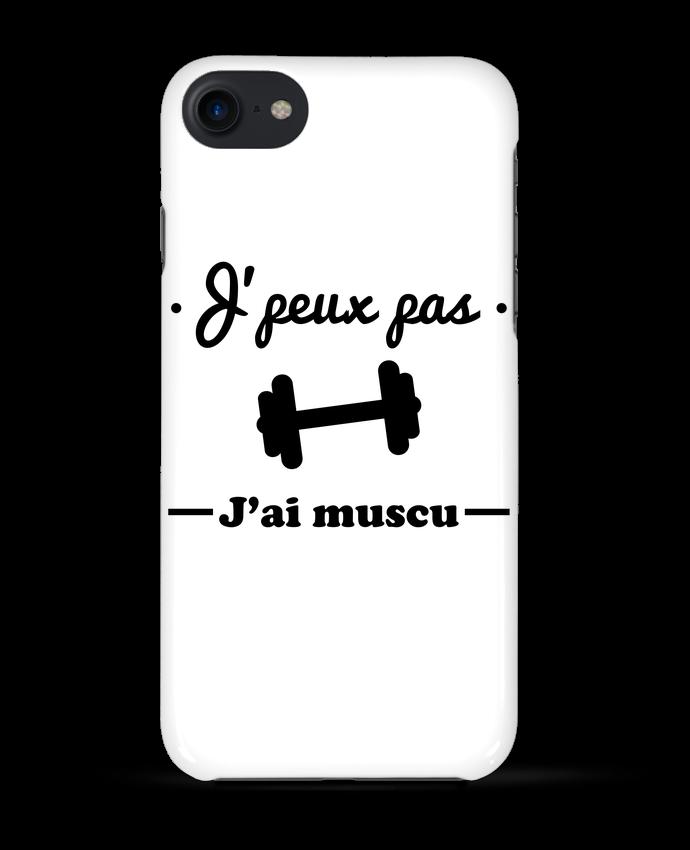 Carcasa Iphone 7 J'peux pas j'ai muscu, musculation de Benichan