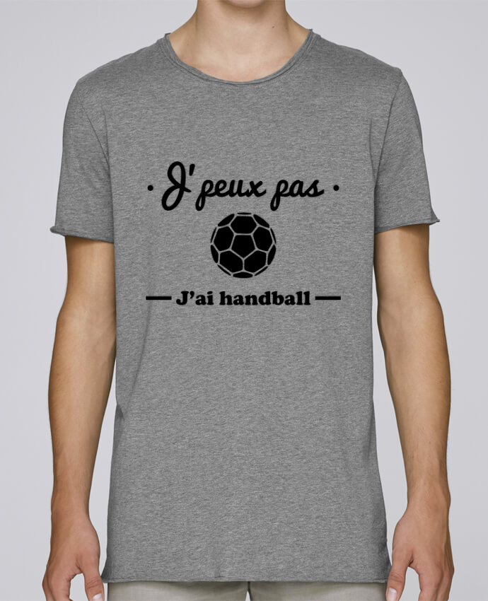 Camiseta Hombre Tallas Grandes Stanly Skates J'peux pas j'ai handball ,  tee shirt handball, hand por Benicha