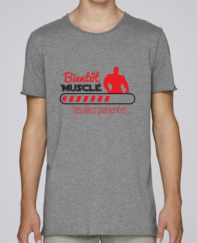 Camiseta Hombre Tallas Grandes Stanly Skates Bientôt musclé, musculation, muscu, humour por Benichan