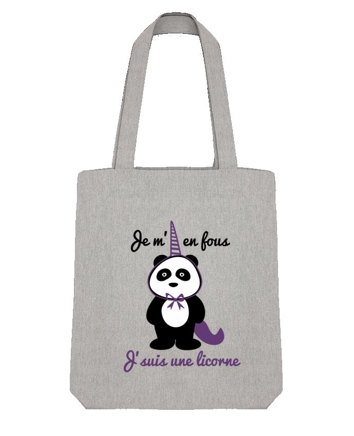 Bolsa de Tela Stanley Stella Je m'en fous j'suis une licorne, panda por Benichan