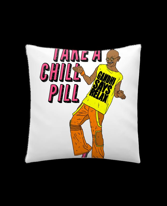 Cojín Sintético Suave 45 x 45 cm Chill Pill por Nick cocozza