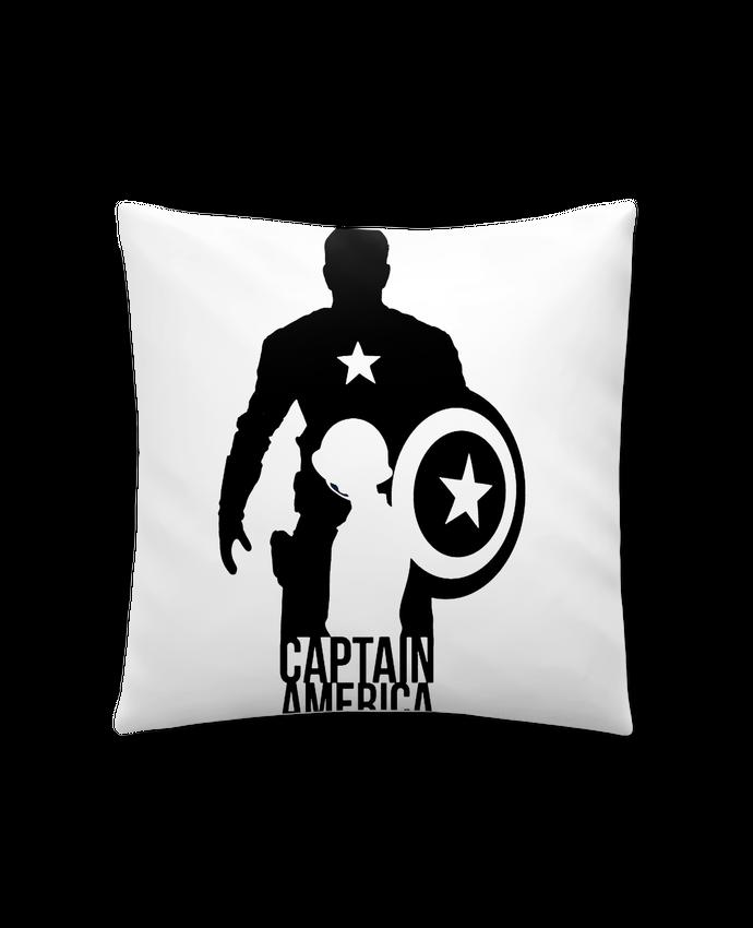Cojín Sintético Suave 45 x 45 cm Captain america por Kazeshini