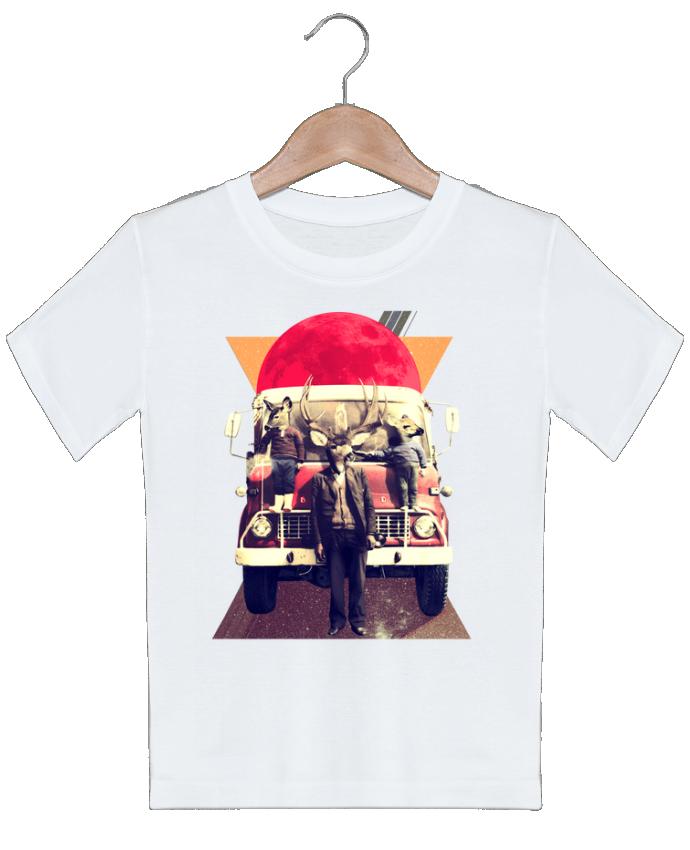 T-shirt garçon motif El camion ali_gulec