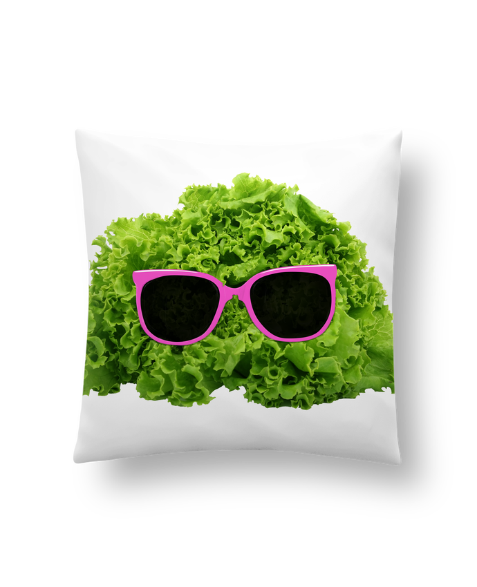 Cojín Sintético Suave 45 x 45 cm Mr Salad por Florent Bodart