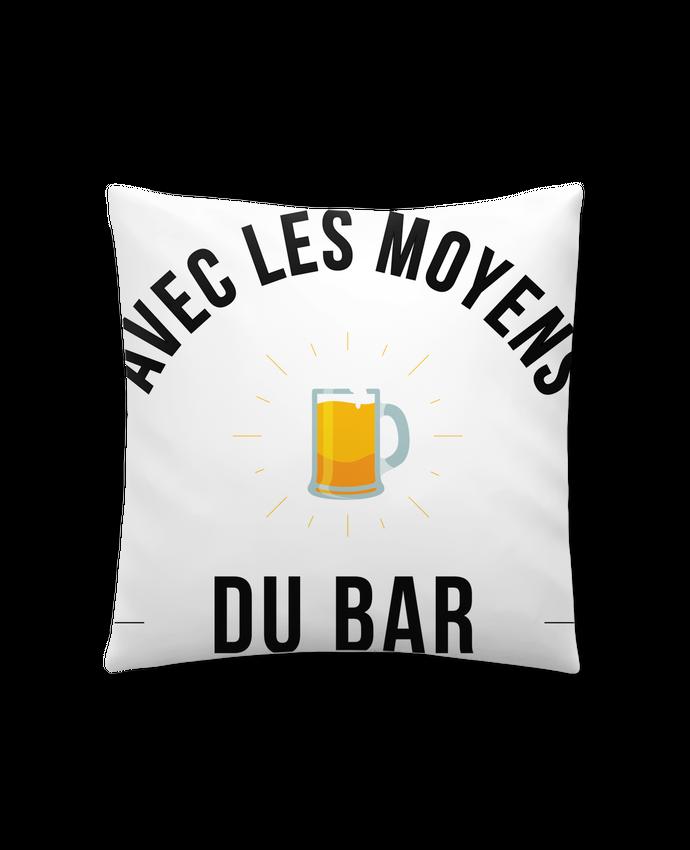 Cojín Sintético Suave 45 x 45 cm Avec les moyens du bar por Ruuud