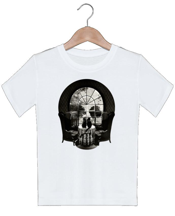 T-shirt garçon motif Room skull ali_gulec