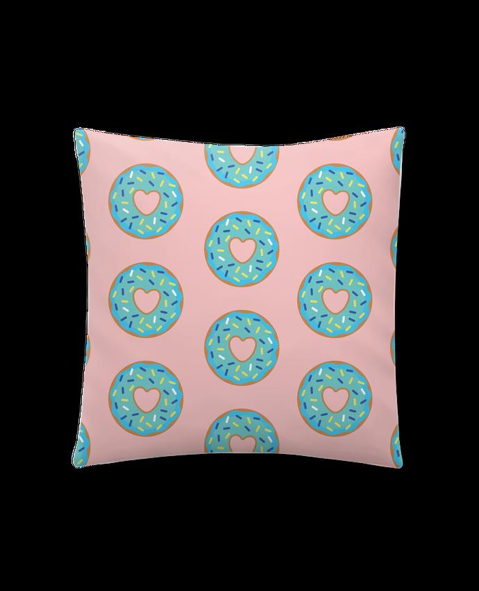 Cojín Sintético Suave 45 x 45 cm Donut coeur por tunetoo