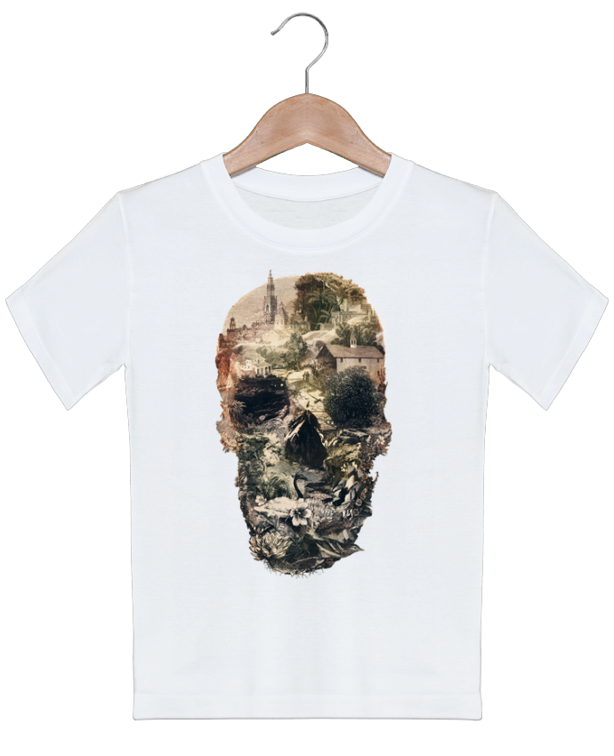 T-shirt garçon motif Skull town ali_gulec