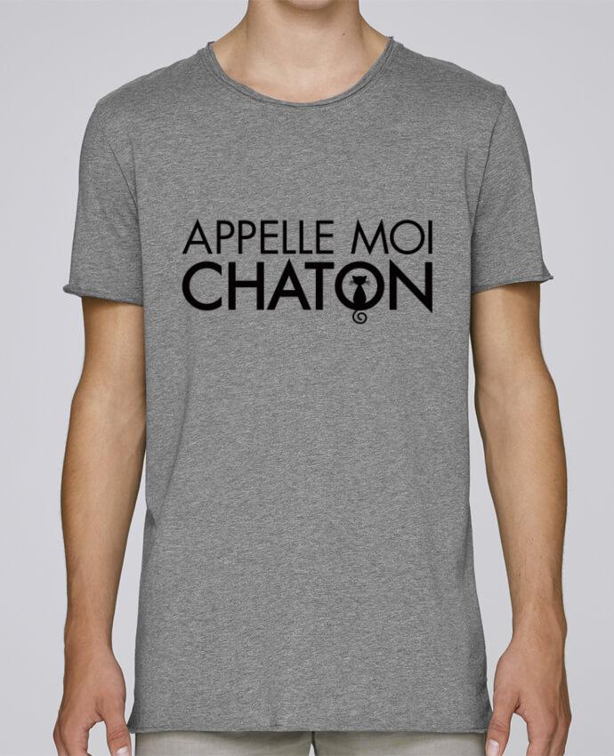 Camiseta Hombre Tallas Grandes Stanly Skates Appelle moi Chaton por Freeyourshirt.com
