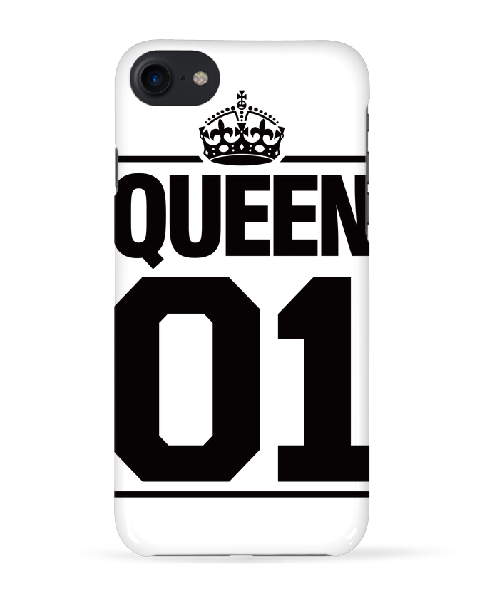 Carcasa Iphone 7 Queen 01 de Freeyourshirt.com