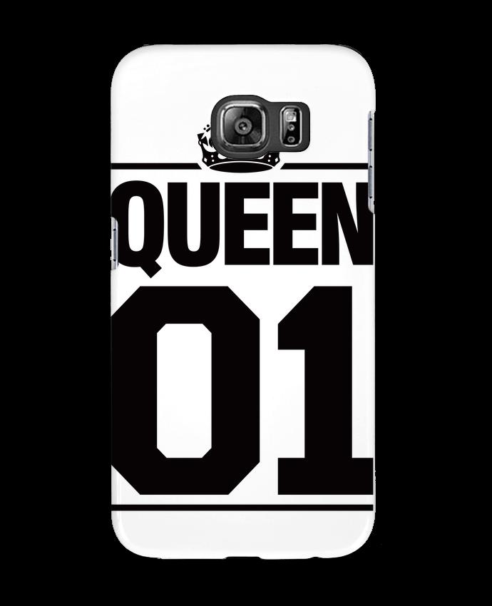 Carcasa Samsung Galaxy S6 Queen 01 - Freeyourshirt.com