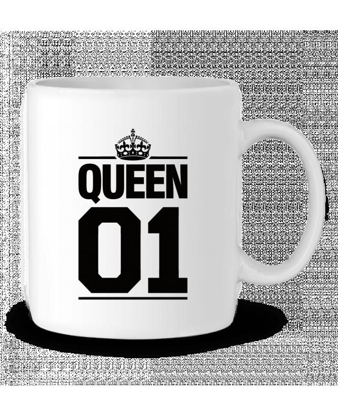 Taza Cerámica Queen 01 por Freeyourshirt.com