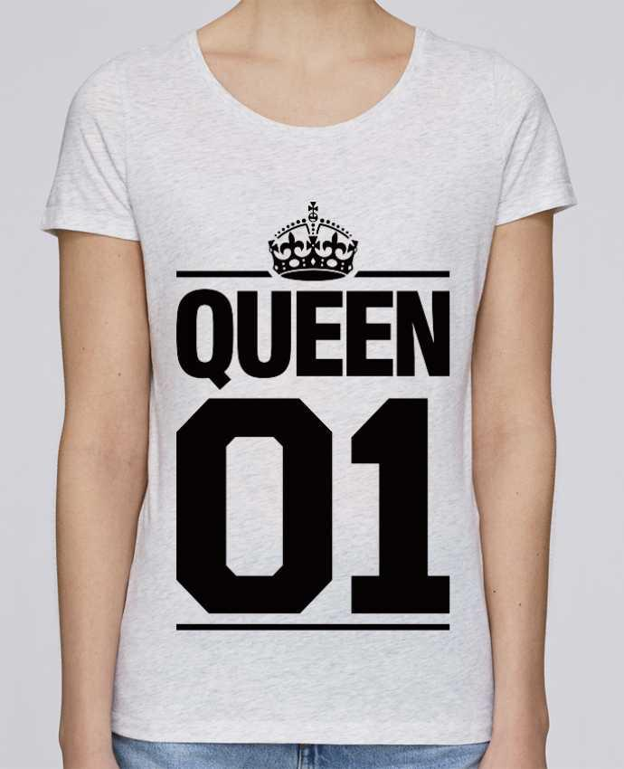 Camiseta Mujer Stellla Loves Queen 01 por Freeyourshirt.com