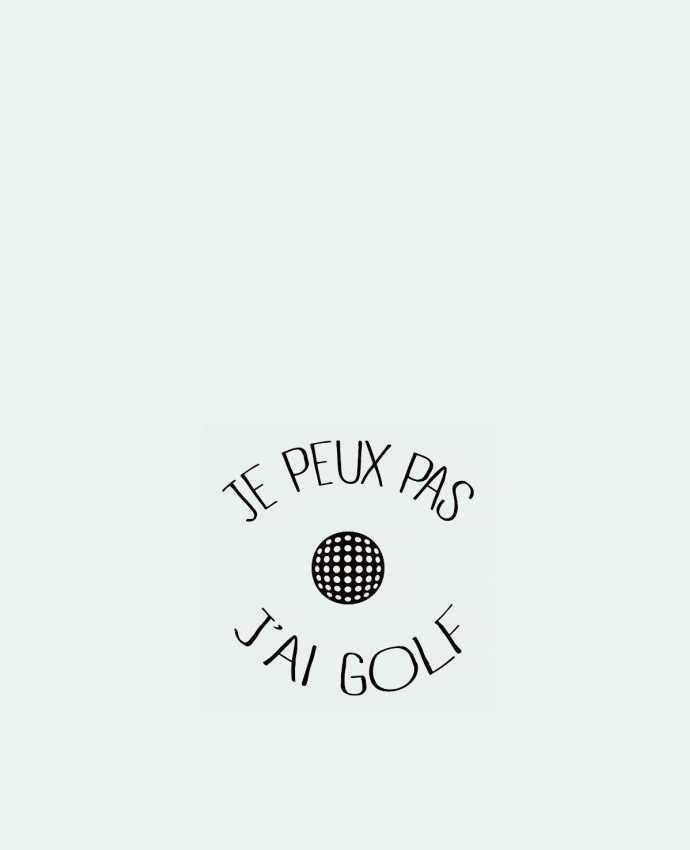 Bolsa de Tela de Algodón Je peux pas j'ai golf por Freeyourshirt.com