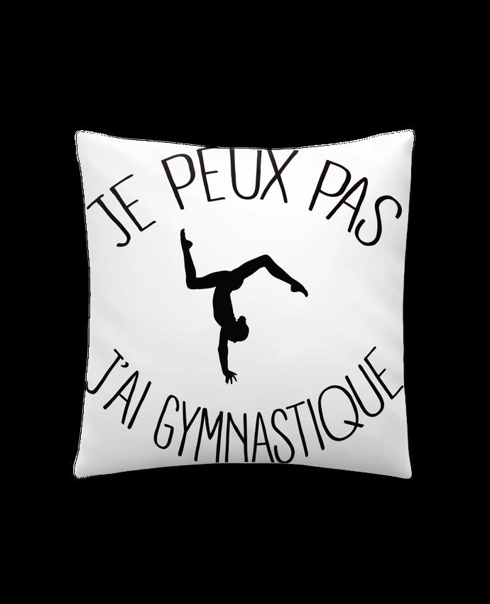 Cojín Sintético Suave 45 x 45 cm Je peux pas j'ai gymnastique por Freeyourshirt.com
