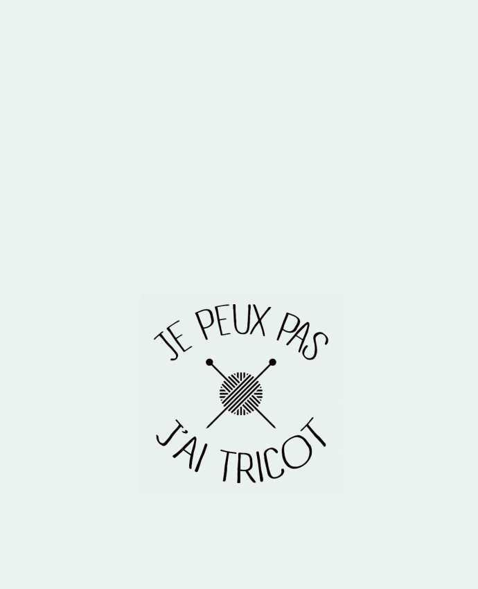 Bolsa de Tela de Algodón Je peux pas j'ai tricot por Freeyourshirt.com