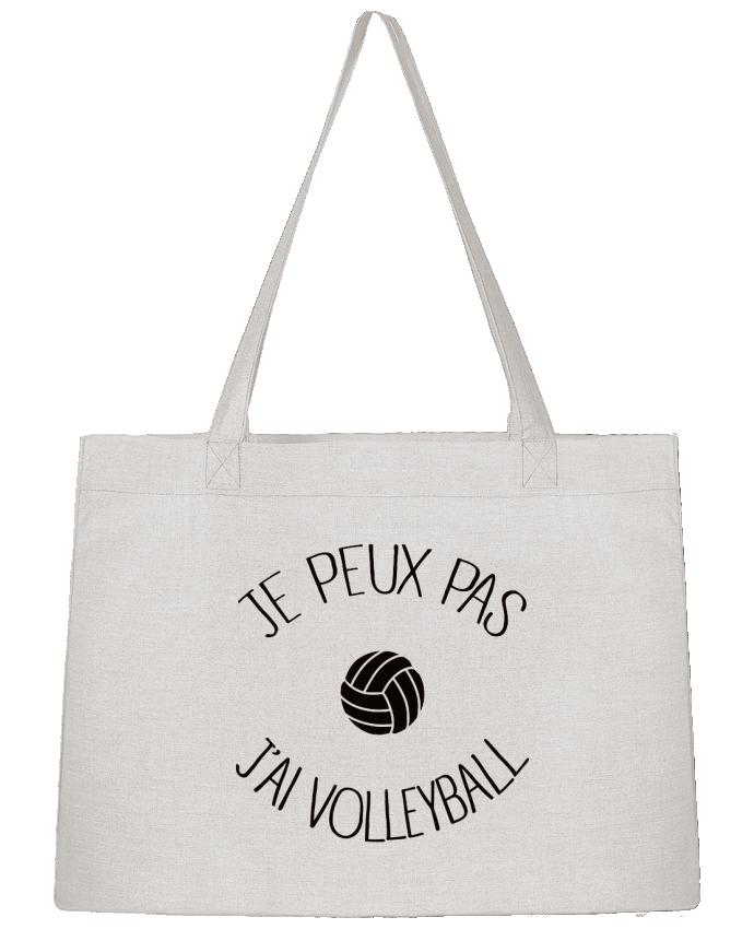 Bolsa de Tela Stanley Stella Je peux pas j'ai volleyball por Freeyourshirt.com