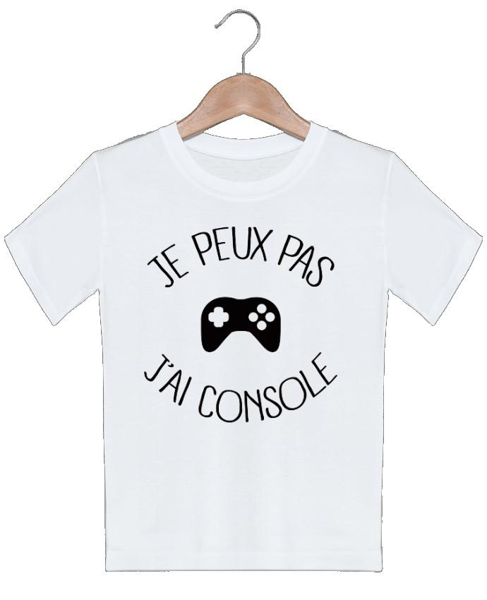 T-shirt garçon motif Je peux pas j'ai Console Freeyourshirt.com