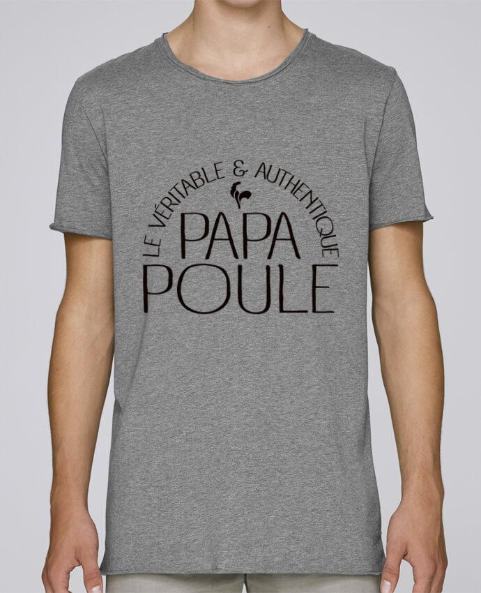 Camiseta Hombre Tallas Grandes Stanly Skates Papa Poule por Freeyourshirt.com