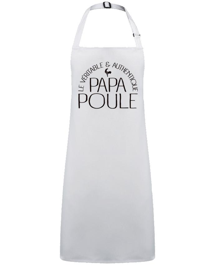 Delantal Sin Bolsillo Papa Poule por  Freeyourshirt.com