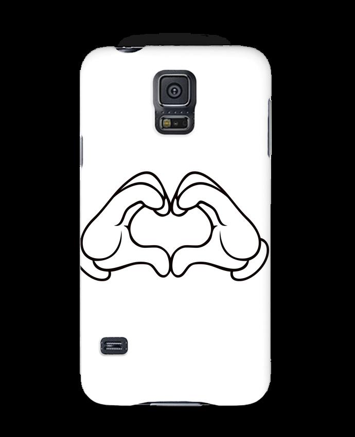 Carcasa Samsung Galaxy S5 LOVE Signe por Freeyourshirt.com