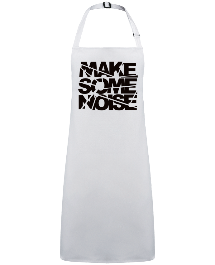 Delantal Sin Bolsillo Make Some Noise por  Freeyourshirt.com