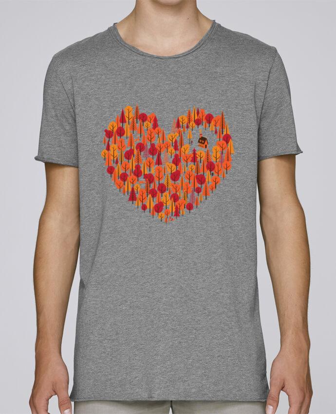 Camiseta Hombre Tallas Grandes Stanly Skates Wild at Heart por chriswharton