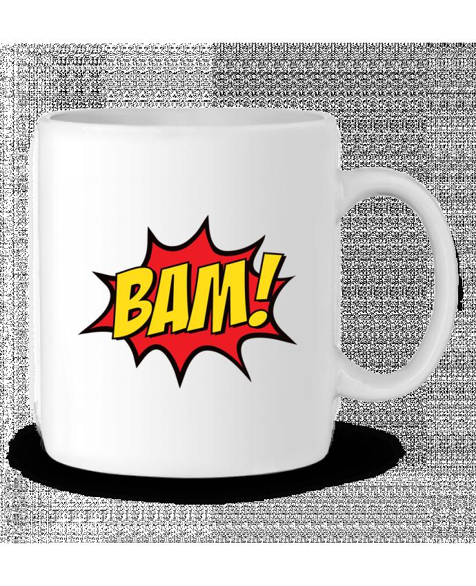Taza Cerámica BAM ! por Freeyourshirt.com