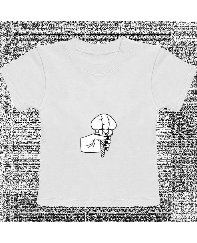 Camiseta Bebé Manga Corta Ice cream manches courtes du designer tattooanshort