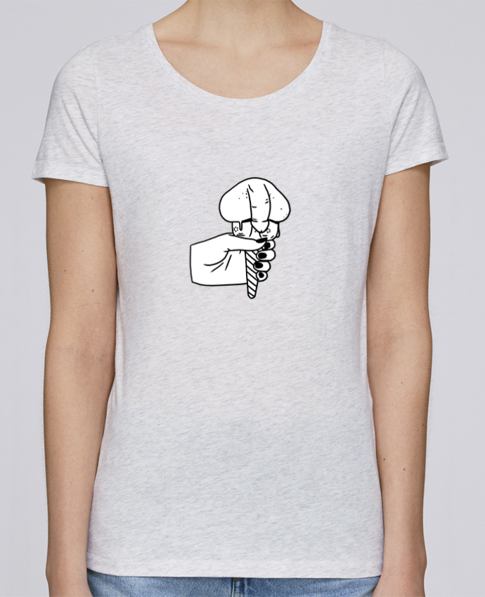 Camiseta Mujer Stellla Loves Ice cream por tattooanshort