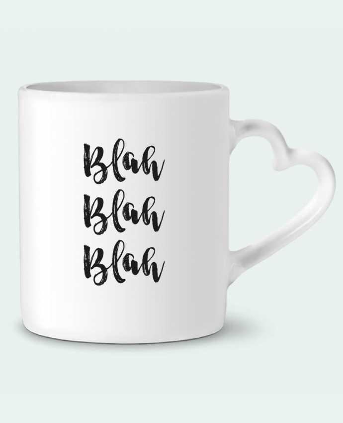 Taza Corazón Blah Blah Blah ! por tunetoo