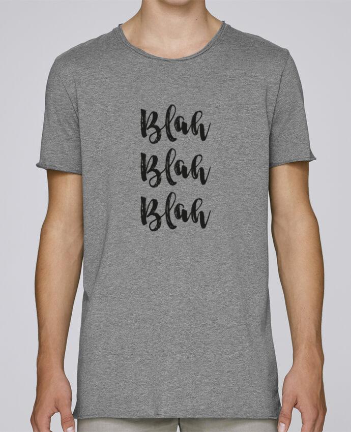 Camiseta Hombre Tallas Grandes Stanly Skates Blah Blah Blah ! por tunetoo