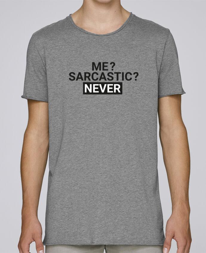 Camiseta Hombre Tallas Grandes Stanly Skates Me sarcastic ? Never por tunetoo
