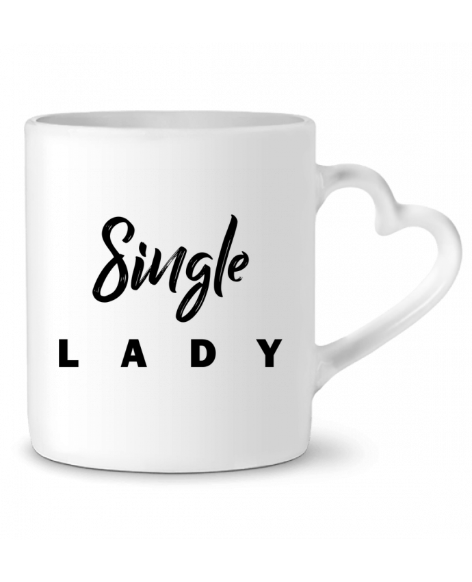 Taza Corazón Single lady por tunetoo
