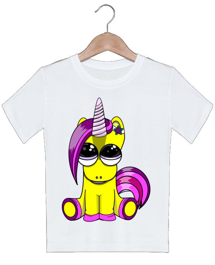 T-shirt garçon motif bébé licorne markageurbain