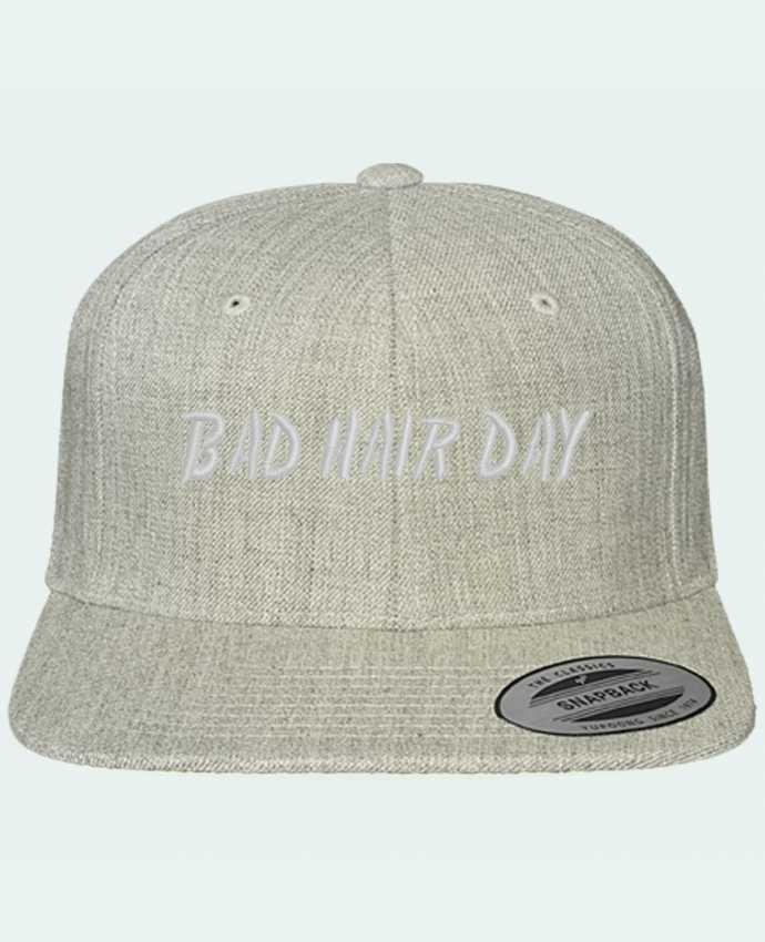 Gorra Snapback Clásica Bad hair day por tunetoo